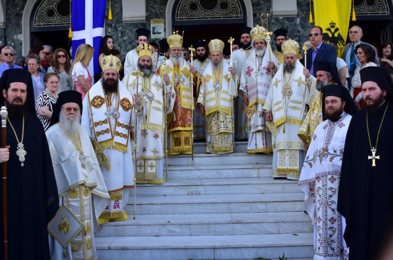 Η Λάρισα τίμησε τον Πολιούχο της Άγιο Αχίλλιο (ΦΩΤΟ)