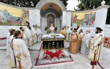 Η εορτή των Αγίων Πατέρων στην Ι. Μητρόπολη Βεροίας (ΦΩΤΟ)
