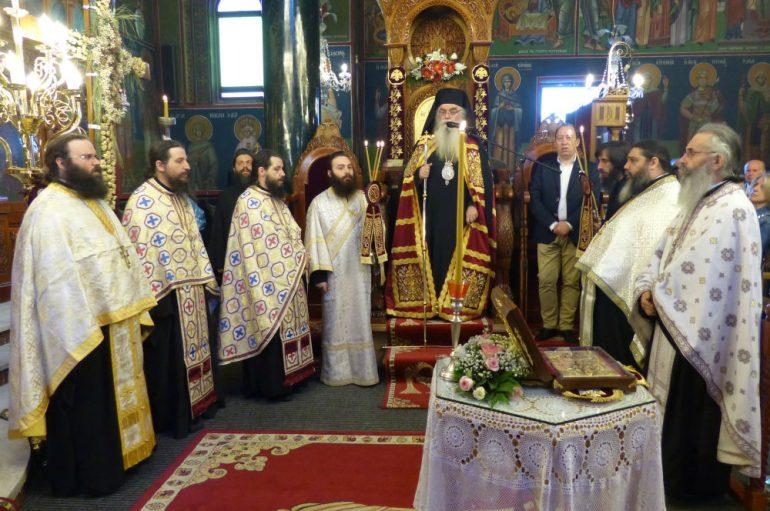 Ο Εσπερινός των Αγίων Κωνσταντίνου και Ελένης στην Ι. Μ. Καστορίας (ΦΩΤΟ)
