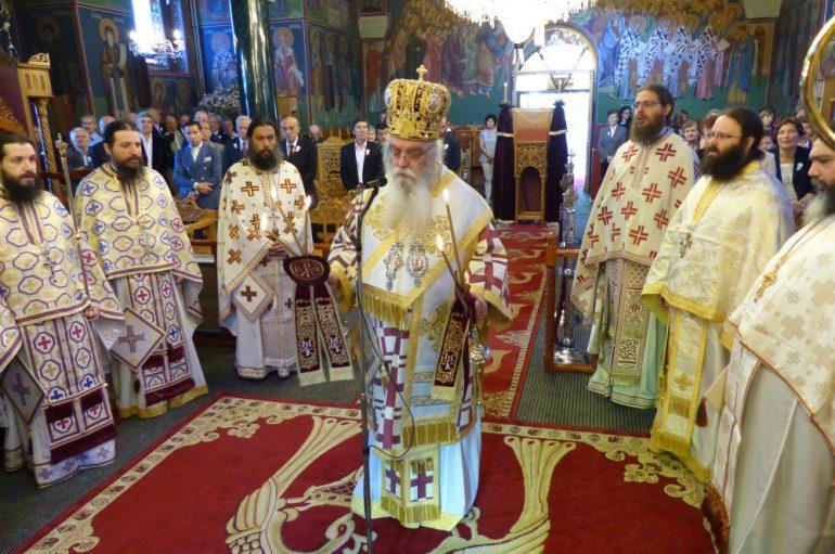 Λαμπρός εορτασμός των Αγίων Κωνσταντίνου και Ελένης στην Καστοριά (ΦΩΤΟ)