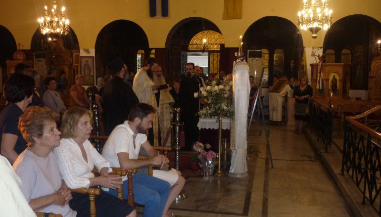 Συνεχίζεται το προσκύνημα στον Ι. Ναό Αγ. Κοσμά του Αιτωλού στη Ν. Φιλαδέλφεια