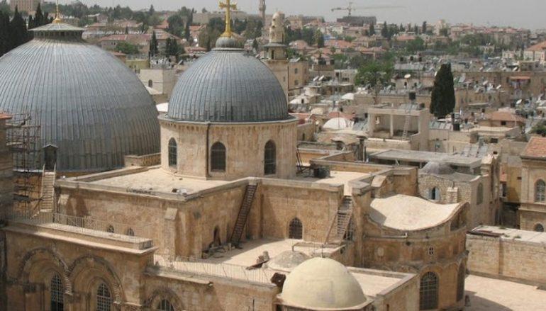 Τρεις Έλληνες Βουλευτές επισκέφθηκαν το Πατριαρχείο Ιεροσολύμων