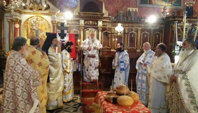 Η εορτή του Οσίου Βαρβάρου στην Ι.Μ. Κερκύρας (ΦΩΤΟ)