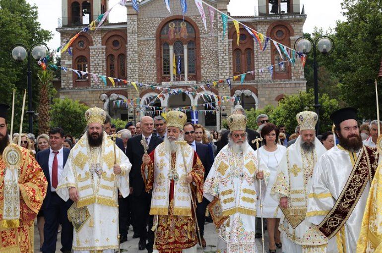 Η Καρδίτσα τίμησε τον Πολιούχο της  Άγιο Σεραφείμ (ΦΩΤΟ-ΒΙΝΤΕΟ)