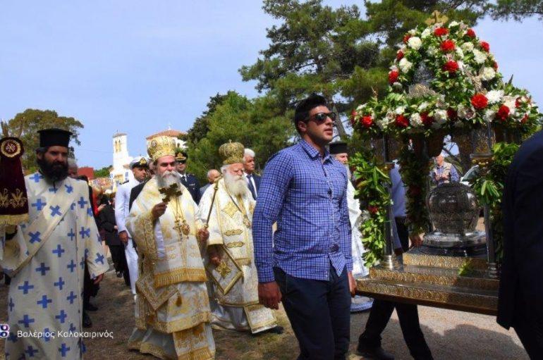 Εορτάσθηκε ο Όσιος Θεόδωρος πολιούχος των Κυθήρων (ΦΩΤΟ)