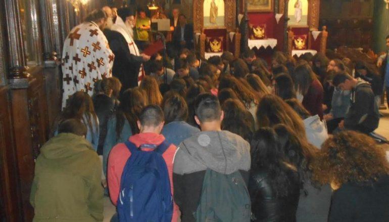 Θεία Λειτουργία για τους υποψήφιους των Πανελληνίων στα Γρεβενά (ΦΩΤΟ)
