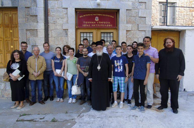 Εξετάσεις στη Σχολή Βυζαντινής Μουσικής της Ι. Μ. Μαντινείας (ΦΩΤΟ)