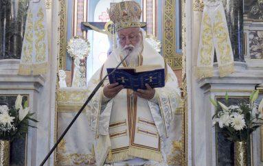 Κυριακή της Πεντηκοστής στην Ι. Μ. Μαντινείας (ΦΩΤΟ)