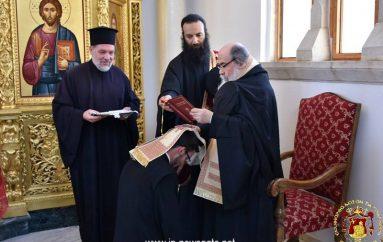 Κουρά μοναχού στο Πατριαρχείο Ιεροσολύμων (ΦΩΤΟ)
