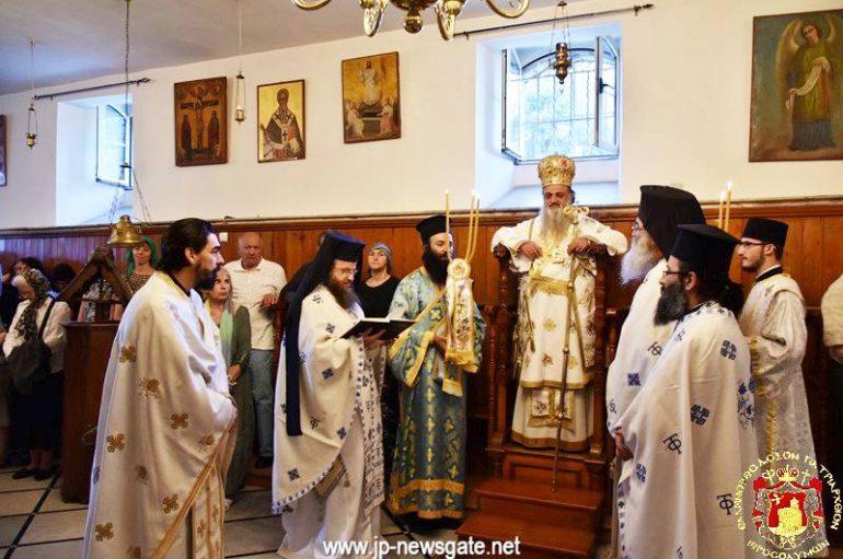 H εορτή του Αγίου Πνεύματος στην Αγία Σιών (ΦΩΤΟ)