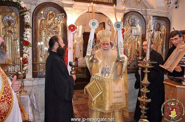 Η εορτή των Αγ. Κωνσταντίνου και Ελένης στο Πατριαρχείο Ιεροσολύμων (ΦΩΤΟ)