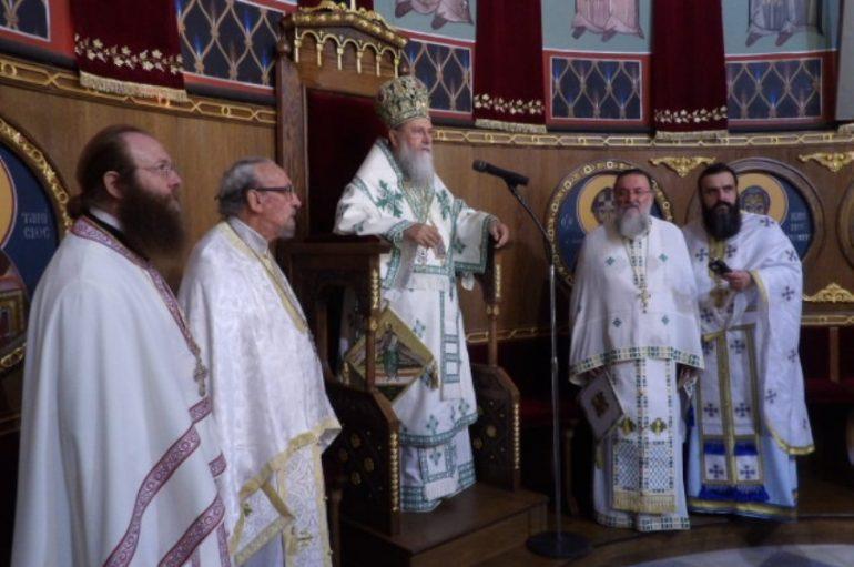 Αρχιερατική Θ. Λειτουργία στον Καθεδρικό Ι. Ναό  Απ. Παύλου Κορίνθου (ΦΩΤΟ)