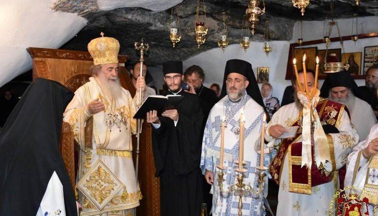 Η εορτή του Οσίου Ονουφρίου στο Πατριαρχείο Ιεροσολύμων (ΦΩΤΟ)