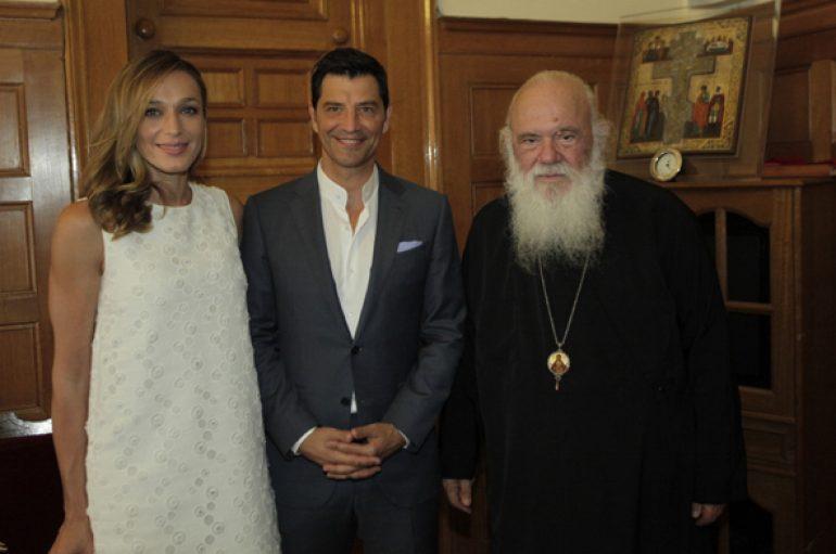 Στον Αρχιεπίσκοπο Ιερώνυμο ο Σάκης Ρουβάς (ΦΩΤΟ)