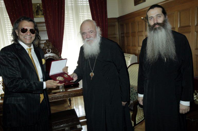 Τον Αρχιεπίσκοπο επισκέφθηκε ο Δήμαρχος Μαραθώνος (ΦΩΤΟ)