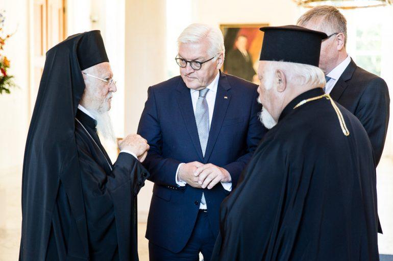 Συνάντηση του Οικ. Πατριάρχη με τον Πρόεδρο της Γερμανίας