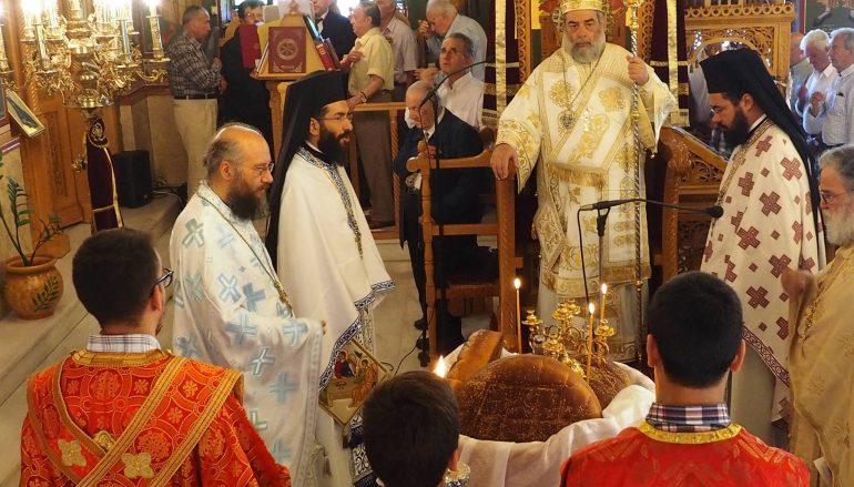 Η εορτή του Αγίου Πνεύματος στην Καλαμάτα (ΦΩΤΟ)