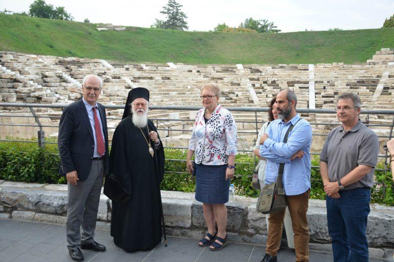 Ολοκληρώθηκε η επίσκεψη του Αρχιεπισκόπου Αλβανίας στη Λάρισα (ΦΩΤΟ)