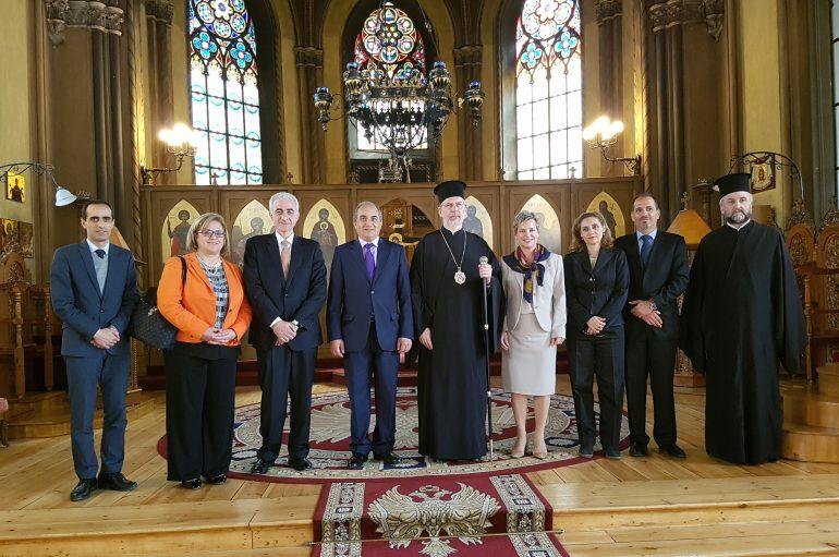 Συνάντηση Μητροπολίτη Σουηδίας με Πρόεδρο Κυπριακής Βουλής (ΦΩΤΟ)