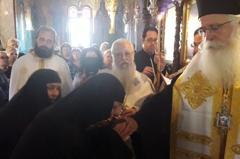 Νέα Μοναχή στην Ι. Μονή Παναγίας κάτω Ξενιάς (ΦΩΤΟ)
