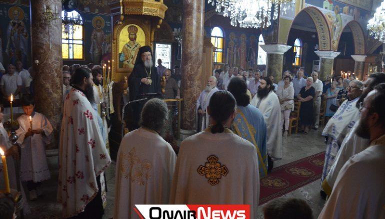 Αρχιερατικός Εσπερινός στον Ι. Ναό Αγίου Παύλου Μεσολογγίου (ΦΩΤΟ)