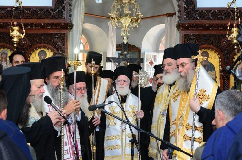 Η Εκκλησία της Κρήτης αποχαιρέτισε τον Κωνσταντίνο Μητσοτάκη (ΦΩΤΟ)
