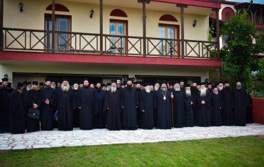 Ιερατική Σύναξη Ιουνίου στην Ι. Μητρόπολη Λαγκαδά (ΦΩΤΟ)