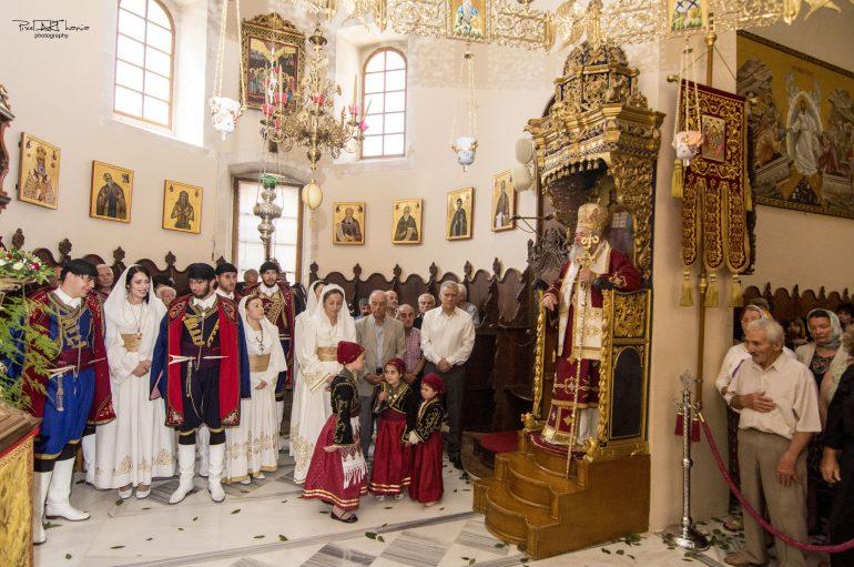 Πανηγύρισε η Πατριαρχική Ι. Μονή της Αγίας Τριάδος των Τζαγκαρόλων (ΦΩΤΟ)