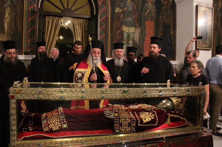 Η τελευταία Αγρυπνία ενώπιον του Λειψάνου της Αγίας Ελένης (ΦΩΤΟ)