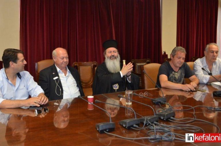 Πρόταση Μητροπολίτη Κεφαλληνίας για διεκδίκηση του Νόμπελ Ειρήνης στον Μαν. Γλέζο