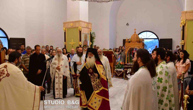 Εσπερινός του Αγίου Λουκά στα Λευκάκια Ναυπλίου (ΦΩΤΟ)