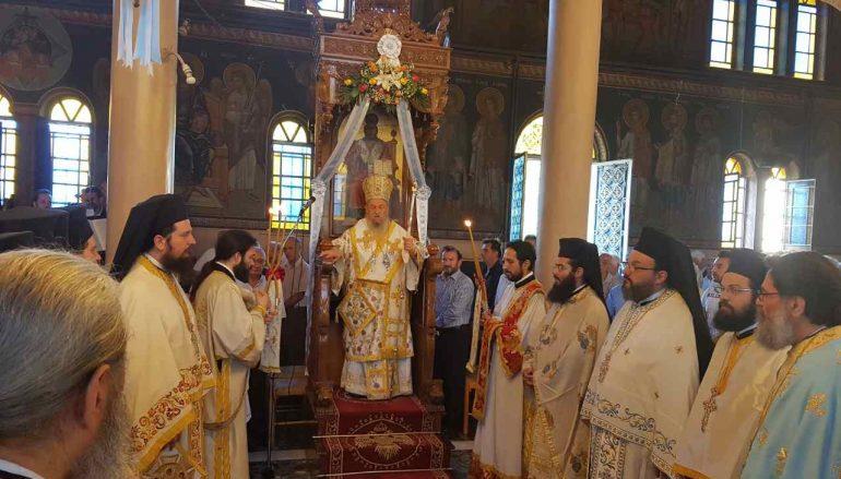 Η εορτή του Αγίου Πνεύματος στην Ι. Μ. Λαρίσης (ΦΩΤΟ)