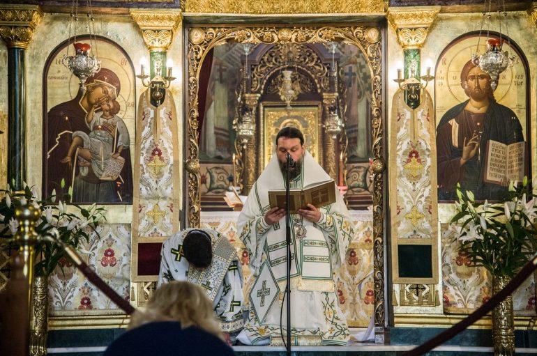Η Γενέθλιος ημέρα της Εκκλησίας στην Ι. Μ. Νέας Ιωνίας (ΦΩΤΟ)