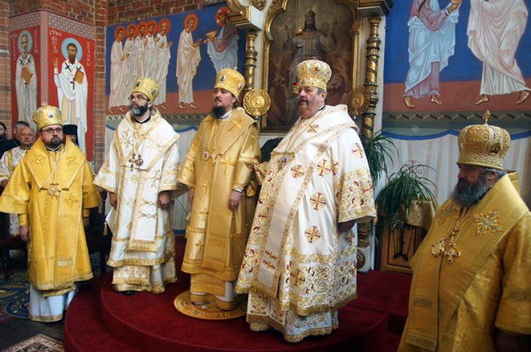 Ενθρόνιση του Αρχιεπισκόπου Βρότσλαβ Γεωργίου στην Εκκλησία της Πολωνίας (ΦΩΤΟ)
