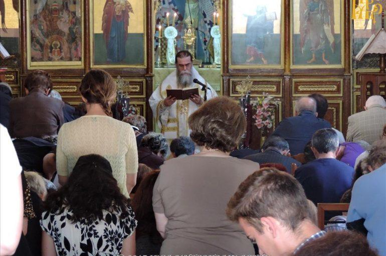 Κυριακή της Πεντηκοστής στην Ι. Μητρόπολη Άρτης (ΦΩΤΟ)