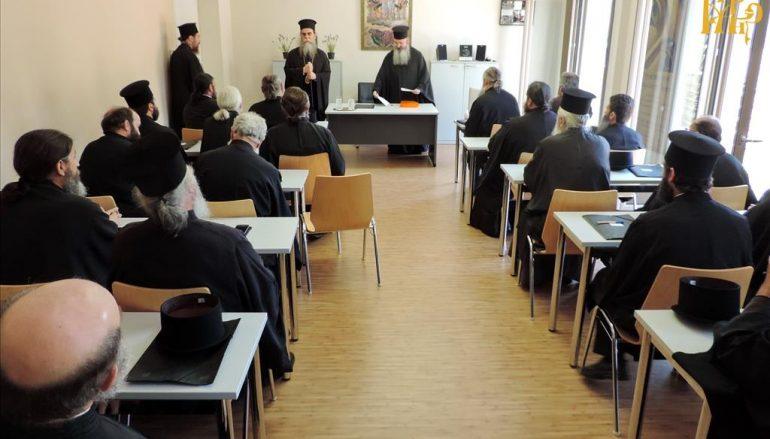 Επιμορφωτικό σεμινάριο Κληρικών στην Ι. Μητρόπολη Άρτης (ΦΩΤΟ)