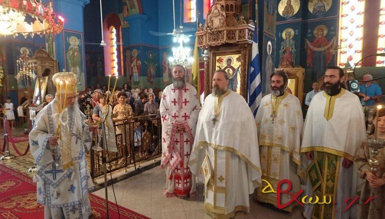 Η εορτή του Αποστόλου Παύλου στη Μεγάλη Χώρα Αγρινίου (ΦΩΤΟ)