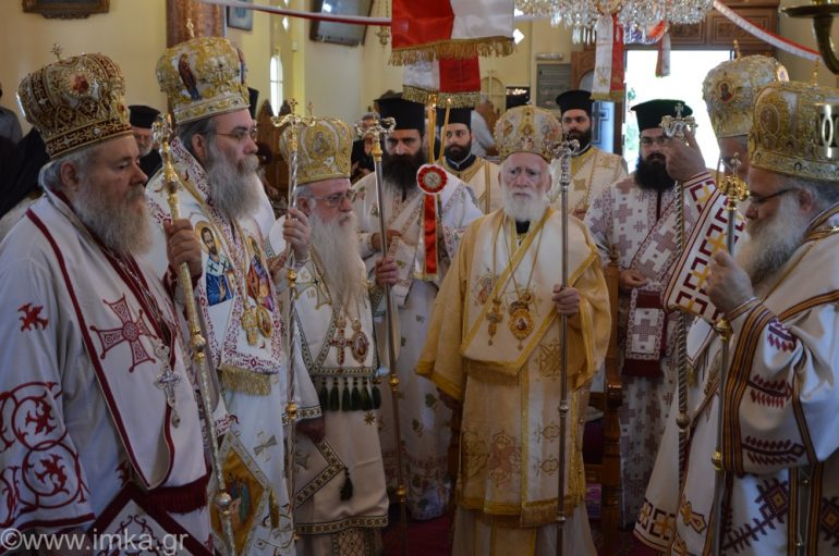 Εορτασμοί για τον Άγιο Γεώργιο τον Διβόλη στα Χανιά (ΦΩΤΟ)