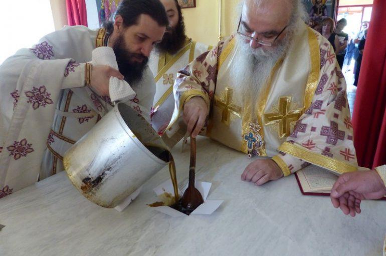 Εγκαίνια Ι. Ναού Αγίων Αποστόλων στην Ι. Μ. Καστορίας (ΦΩΤΟ – ΒΙΝΤΕΟ)