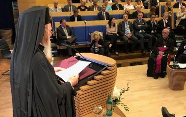 Ομιλία του Οικ. Πατριάρχη στο Ίδρυμα Konrad-Adenauer στο Βερολίνο (ΦΩΤΟ)