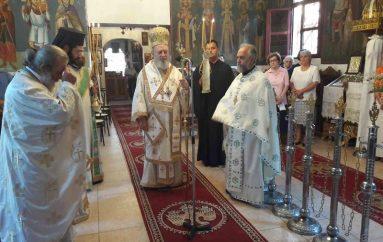 Ποιμαντική περιοδεία του Μητροπολίτη Χαλκίδος στην Βόρεια Εύβοια (ΦΩΤΟ)