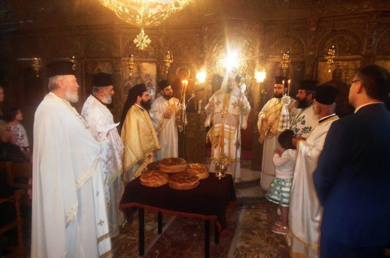 Η εορτή του Αγίου Πνεύματος στην Ι. Μ. Θεσσαλιώτιδος (ΦΩΤΟ)