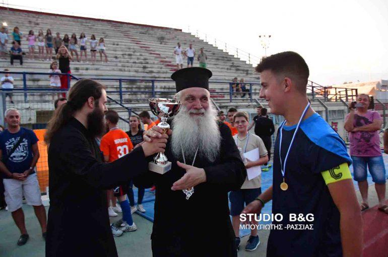 Πρωτάθλημα ποδοσφαίρου ενοριών στην Ι. Μ. Αργολίδος (ΦΩΤΟ – ΒΙΝΤΕΟ)