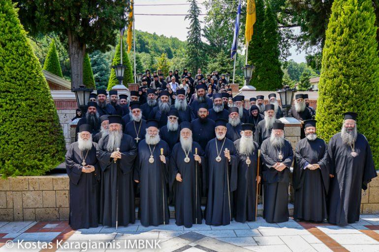 Ζ΄ Μοναχική Σύναξη στην Ι. Μητρόπολη Βεροίας (ΦΩΤΟ)