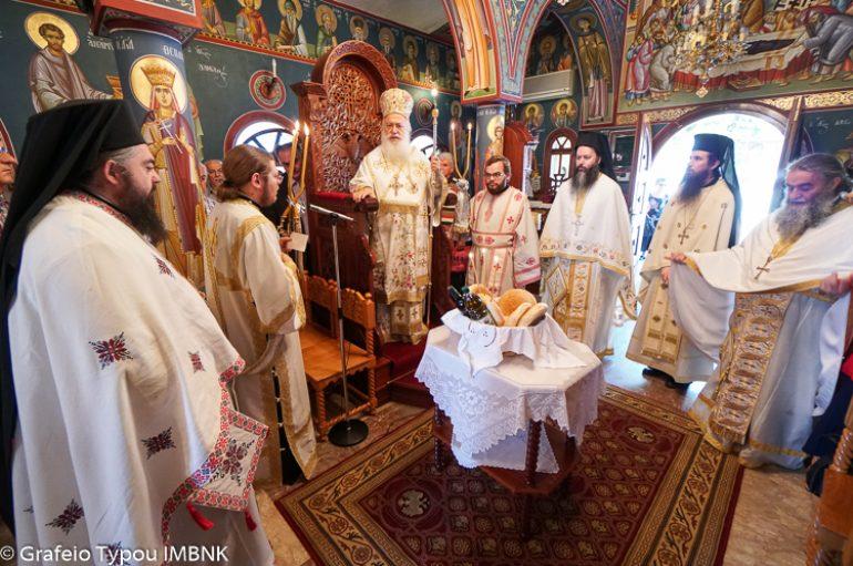 Η εορτή του Αγίου Πνεύματος στην Ι. Μ. Βεροίας (ΦΩΤΟ)