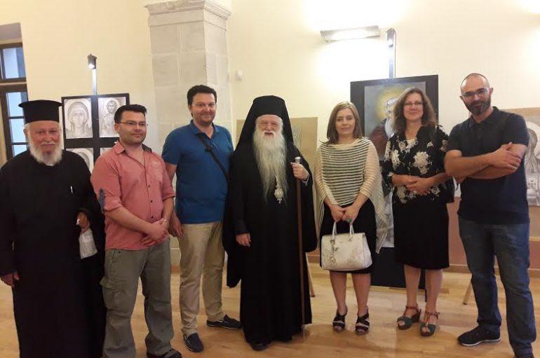 Έκθεση Βυζαντινής Αγιογραφίας στην Ι. Μ. Καλαβρύτων (ΦΩΤΟ)