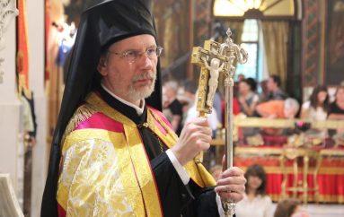Εσπερινός ενώπιον της Αγίας Ελένης από τον Μητροπολίτη Σουηδίας (ΦΩΤΟ)