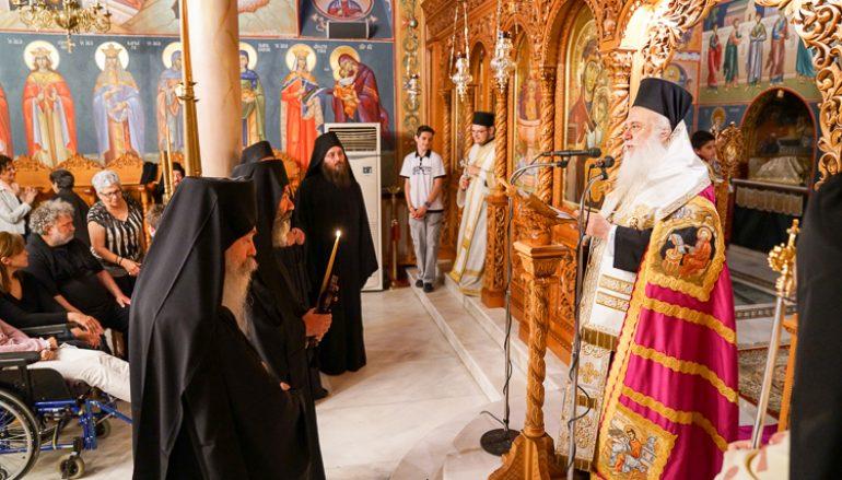 Κουρά Μοναχού στην Ι. Μονή Παναγίας Δοβρά Βεροίας (ΦΩΤΟ)