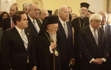 Ο Οικ. Πατριάρχης στην δεξίωση του Προέδρου της Δημοκρατίας (ΦΩΤΟ)