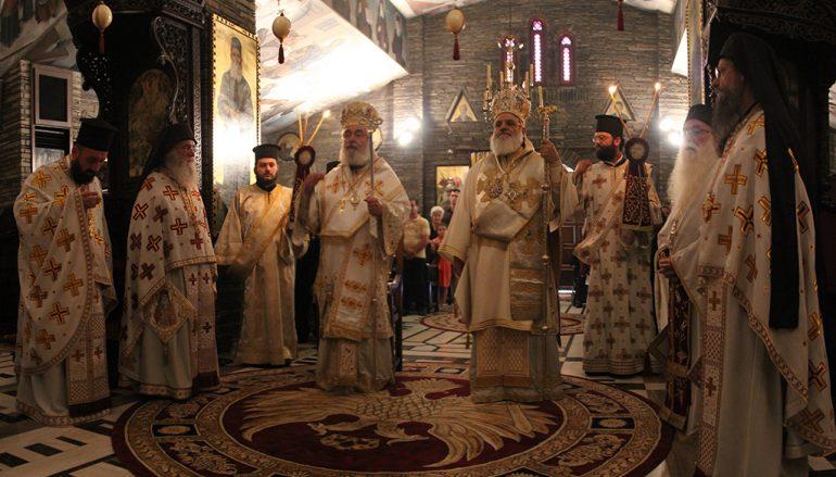 Η εορτή του Αγίου Αυγουστίνου στο Τρίκορφο της Φωκίδος (ΦΩΤΟ)